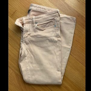 Gap super skinny jeans- light pink!
